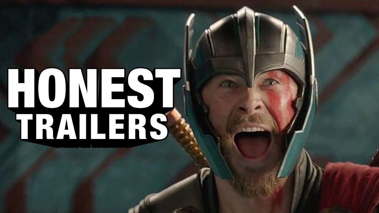 Honest Trailers Takes On Thor Ragnarok
