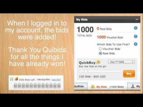 Where to find Quibids Promo Code? -.