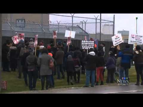 United Against Detentions - Toronto Immigration Jail - CTV - Nov 23