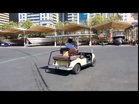Solar Powered Club car solution and real testing