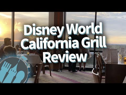Disney World California Grill FULL RESTAURANT REVIEW