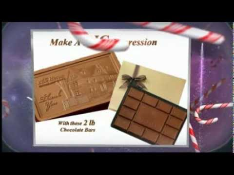 Custom Chocolates as Holiday Business Gifts
