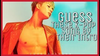 Download Lagu GUESS THE KPOP SONG BY THEIR INTRO Gratis STAFABAND