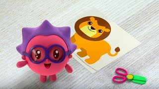 Малышарики - Чей хвостик?🙀 - серия 64 - обучающие мультфильмы для малышей 0-4