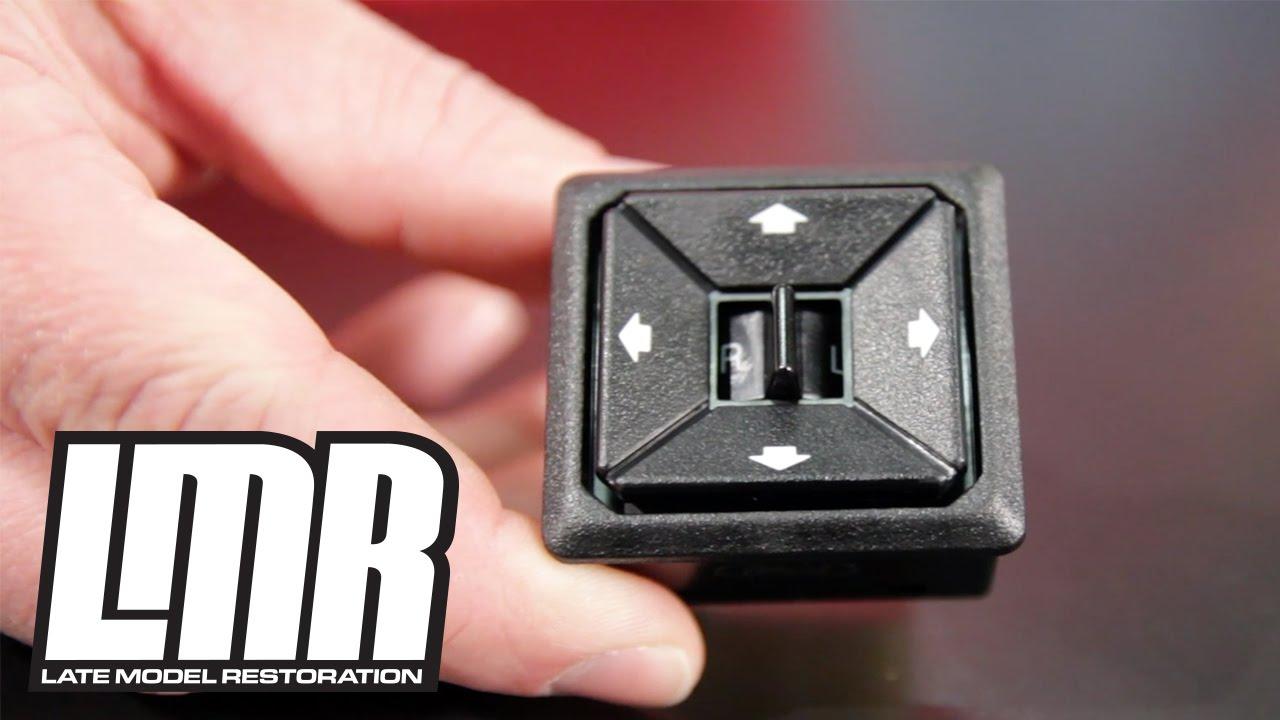 Mustang Mirror Switch Installation 5 0resto 87 93 Fox
