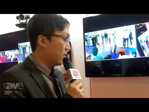 ISE 2015: Huawei Showcases TE50 Professional HD Videoconferencing Endpoint