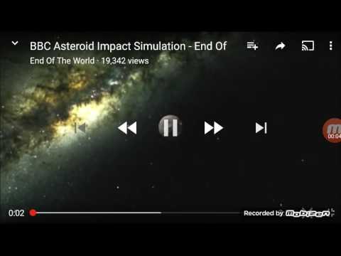 Astroid impact US Version animation