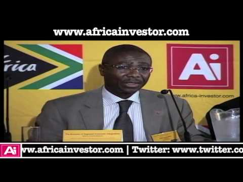 Jean-Louis Ekra, President, African-Export-Import Bank at Ai-IMC Regional Economic Integration Forum