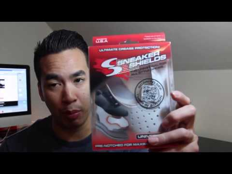 Sneaker Shield Review  How to Prevent Sneaker Creases by JumperManKris