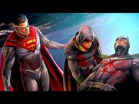INJUSTICE 2 Todos los Finales de Personajes (Español Latino)