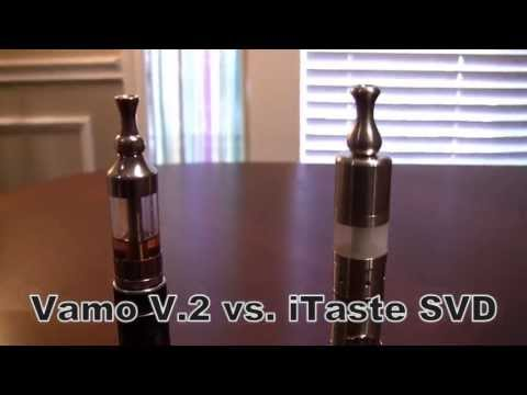 Innokin iTaste SVD VS. Vamo V.2- Vaporizer Showdown with Twisted420