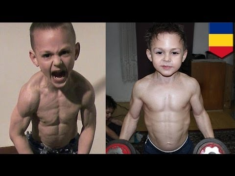 Kilalanin ang pinakabatang bodybuilders sa buong mundo!