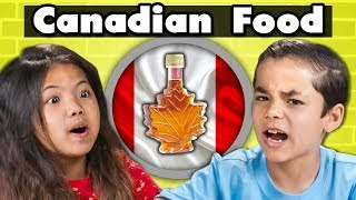 KIDS EAT CANADIAN FOOD | Kids Vs. Food