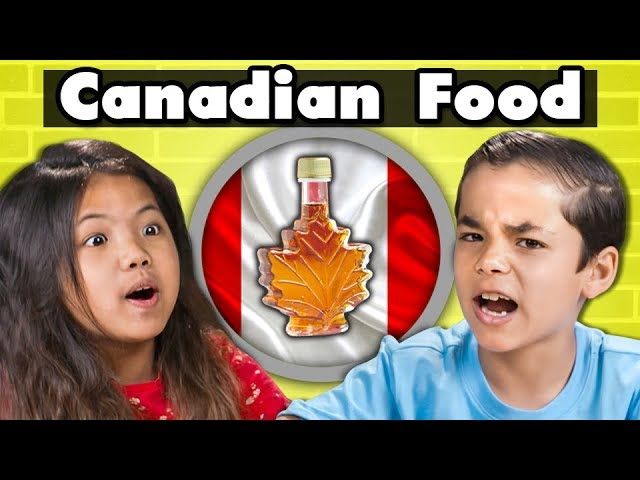 KIDS EAT CANADIAN FOOD  Kids Vs. Food
