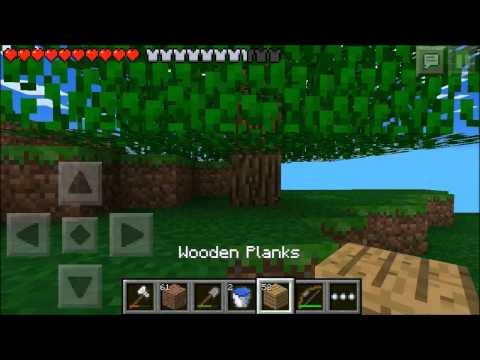 Minecraft Pocket Edition Lets Play ~ Episode 5 ~ Dont Mine Me Im Just Mining Water