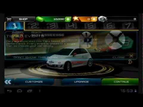 How to setup Asphalt 7 Heat on OS Android Ice Cream Sandwhich (Tablet PC)