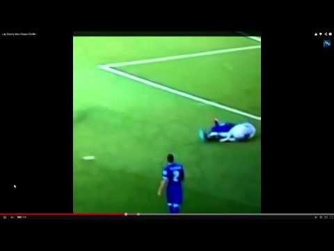 Luis Suárez Bites Giorgio Chiellini - Italië - Uruguay