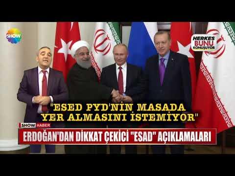 """Erdoğan'dan dikkat çekici """"Esad"""" açıklamaları"""