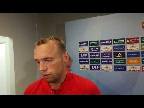 Денис Глушаков: мы не заслуживали поражения