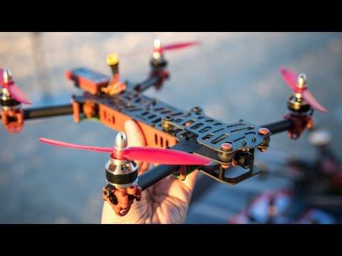 ImmersionRC's Vortex Racing Quadcopter