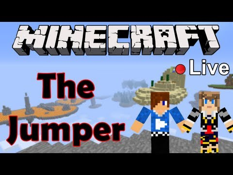 The Jumper : Siphano & Frigiel | Live — Minecraft