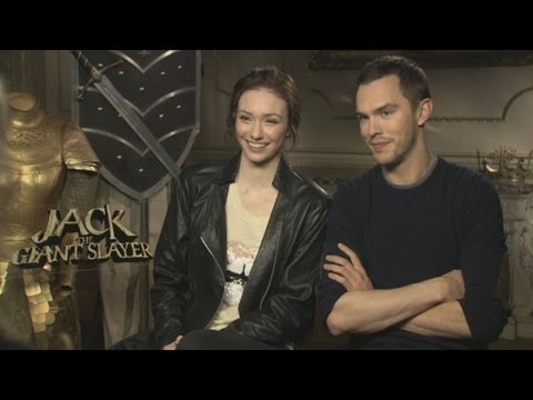 Jack The Giant Slayer: Nicholas Hoult and Eleanor Tomlinson interview about fairytales and girls