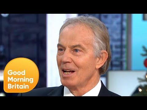 Tony Blair Calls for a Second Brexit Referendum | Good Morning Britain