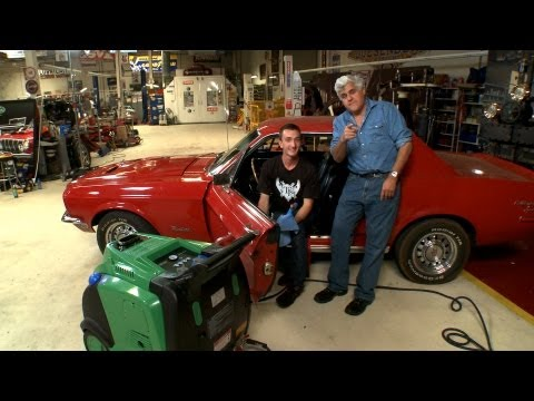 Detail Your Car - With Steam! - Jay Leno's Garage