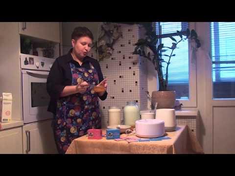 приготовление йогурта часть 1