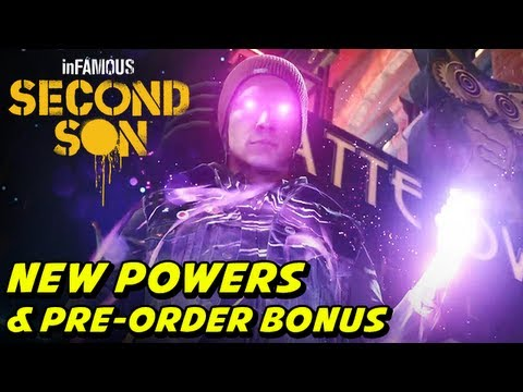 ►inFAMOUS: Second Son NEW Gameplay Powers Pre Order Bonuses