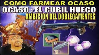 AMBICIÓN DEL DOBLEGA MENTES , Farmear el Ocaso - DESTINY 2