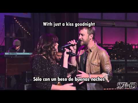 Lady Antebellum - Just A Kiss Hd Video Subtitulado Español English Lyrics video