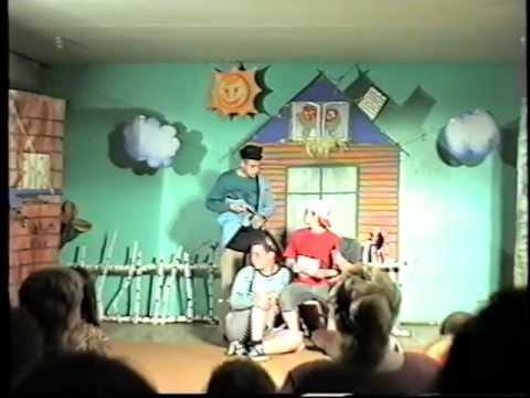 Спектакль Тётя Дяди Фёдора(Простоквашино) 1-й курс