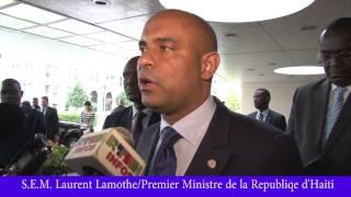 VIDEO: Rankont Haiti PM Laurent Lamothe ak John Kerry, Kisa ki te Diskite?