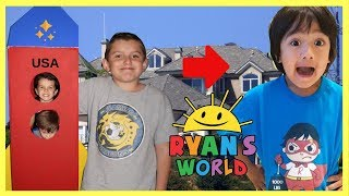 Sent my brothers on a rocket to RYAN TOYSREVIEW and got Ryan's World Toys by Bonkers