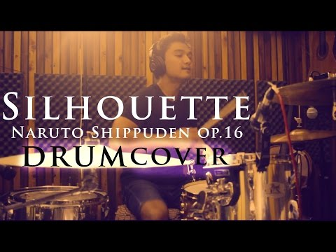 Silhouette (Naruto Shippuden OP16) - Raon Lee's Version - Drum Cover