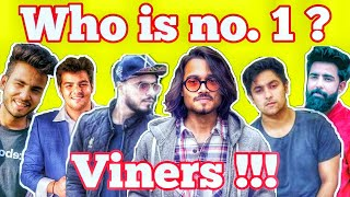 Top 10 Viners in India 2018 | Bb ki vines, Amit Bhadana, Ashish chanchlani, Harsh Beniwal