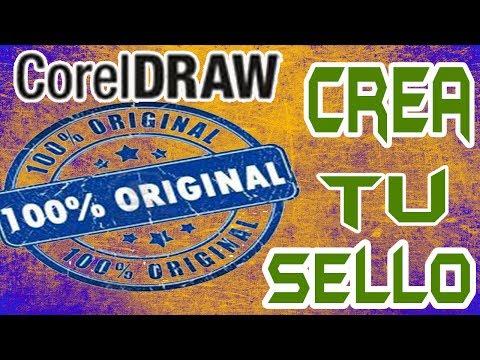 Como hacer o modificar un sello con CorelDraw x5