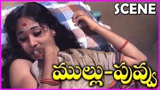 Mullu Puvvu - Telugu Movie Scene - Rajinikanth ,Fatafat Jayalaxmi