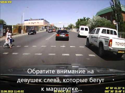 ДТП в г. Кызылорда Казахстан