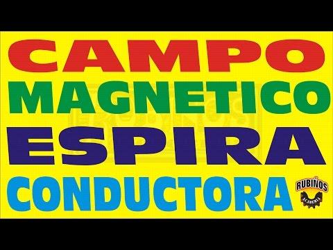 CAMPO MAGNETICO EN UNA ESPIRA CONDUCTORA