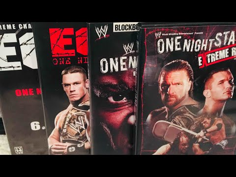 WWE/ECW One Night Stand PPV DVD Collection Review streaming vf