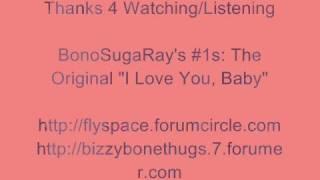 The Original - I Love You Baby