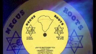 "Lacksley Castell & Papa Tullo - Jah Is Watching You & Sweet Reggae Music 12""  1981"