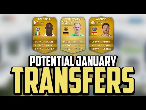 FIFA 14   Potential January Transfers! - Balotelli. Xabi Alonso & ter Stegen