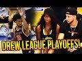 Ben Simmons & Dyl Watch Drew League SEMI-FINALS GAME! Marvin Bagley Leads LAUNFD!