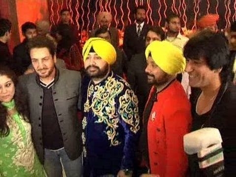 Daler Mehndis Daughter Marriage | Navraj Hans | Famous Celebrities...