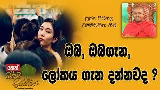 Darma Dakshina 2019.01.16 - Pitigala Dhammavinitha Himi