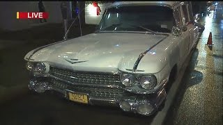 Replica of Ghostbusters car rolls through downtown Youngstown
