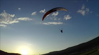 Sunset Flight with Wegus RS